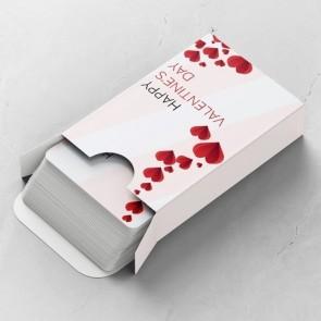 Folded Love Gepersonaliseerde Speelkaarten