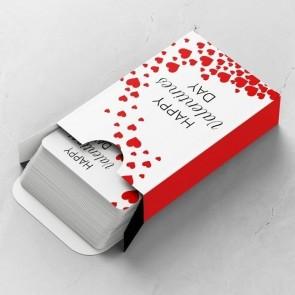 Valentine Love Gepersonaliseerde Speelkaarten