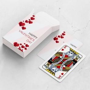 gepersonaliseerde speelkaarten zakelijk folded love kaarten en doosje