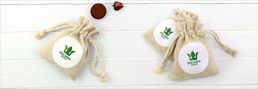 hoveniersmaandag-bedrukt-linnen-zakje